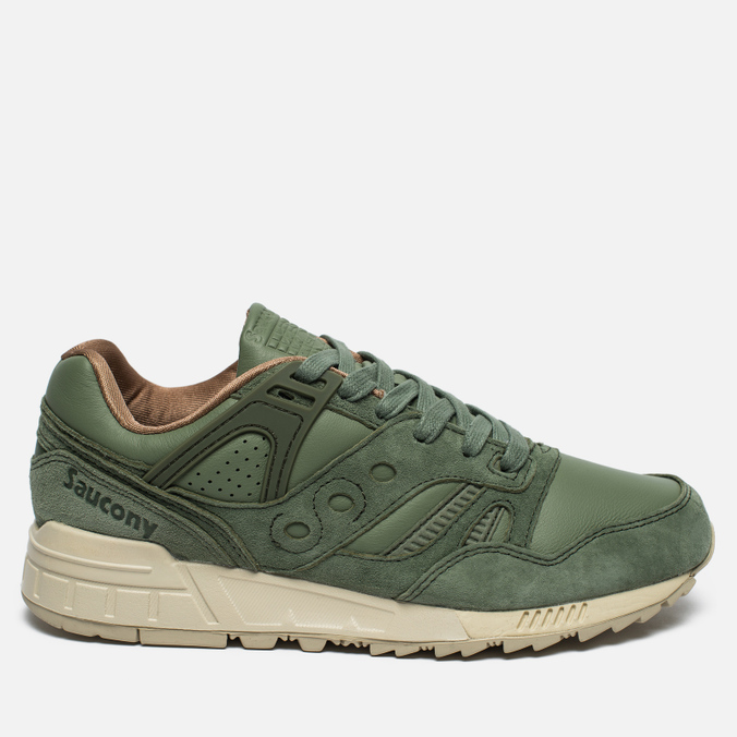 Мужские кроссовки Saucony Grid SD Boston Public Garden Pack Oiled Green