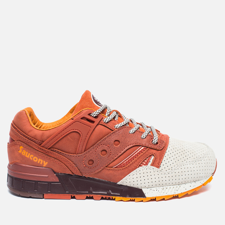 Мужские кроссовки Saucony Grid SD Pumpkin Spice Brown/Orange/White