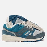 Кроссовки Saucony Grid SD Quilted Blue/Grey фото- 2