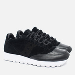 Saucony Jazz Original 35th Anniversary Premium Men's Sneakers Black/White photo- 2