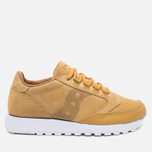 Saucony Jazz Original 35th Anniversary Premium Men's Sneakers Wheat/White photo- 0