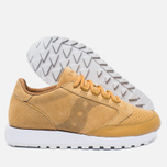 Saucony Jazz Original 35th Anniversary Premium Men's Sneakers Wheat/White photo- 1