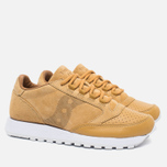 Saucony Jazz Original 35th Anniversary Premium Men's Sneakers Wheat/White photo- 2