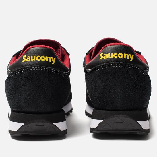 Мужские кроссовки Saucony Jazz Original Black/Red