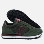 Мужские кроссовки Saucony Jazz Original Green/Burgundy фото- 1