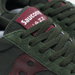 Saucony Jazz Original Men's Sneakers Green/Burgundy photo- 3