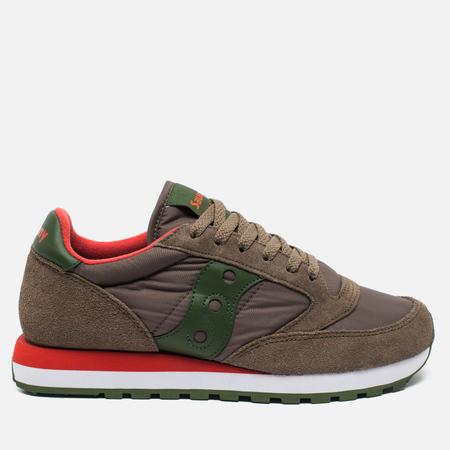 Saucony Jazz Original Men's sneakers Light Brown/Green