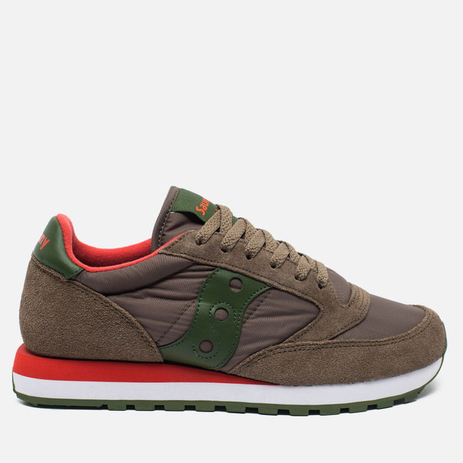 Мужские кроссовки Saucony Jazz Original Light Brown/Green