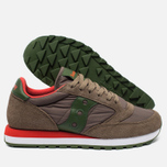 Мужские кроссовки Saucony Jazz Original Light Brown/Green фото- 1