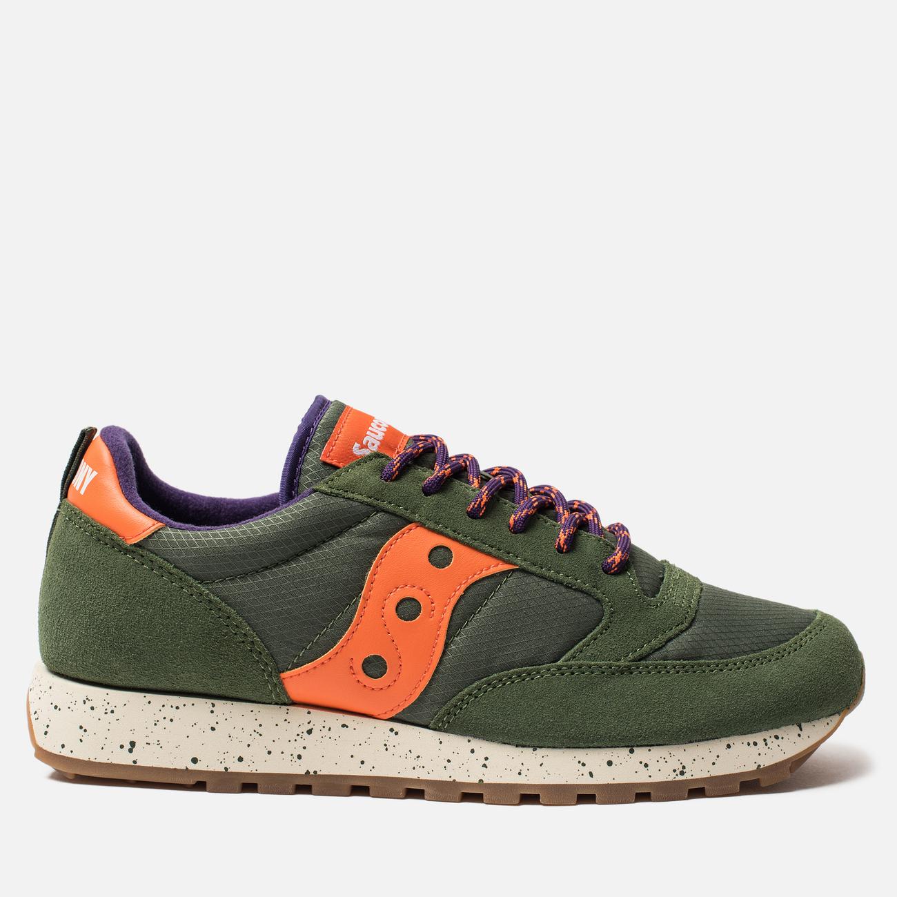 Мужские кроссовки Saucony Jazz Original Outdoor Green/Orange
