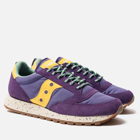 Мужские кроссовки Saucony Jazz Original Outdoor Purple/Yellow