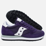 Мужские кроссовки Saucony Jazz Original Purple/White фото- 1