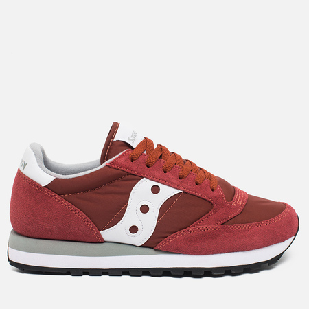 Мужские кроссовки Saucony Jazz Original Red/White Retro