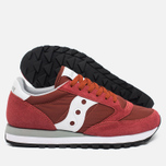 Мужские кроссовки Saucony Jazz Original Red/White Retro фото- 2