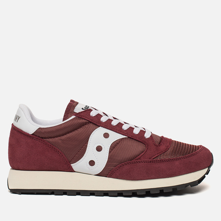 Мужские кроссовки Saucony Jazz Original Vintage Burgundy/White