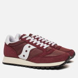 Мужские кроссовки Saucony Jazz Original Vintage Burgundy/White фото- 1