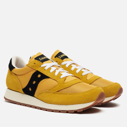 Мужские кроссовки Saucony Jazz Original Vintage Yellow/Black/Egret