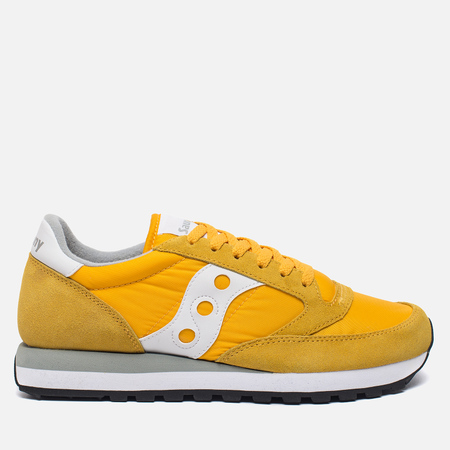 Мужские кроссовки Saucony Jazz Original Yellow/White