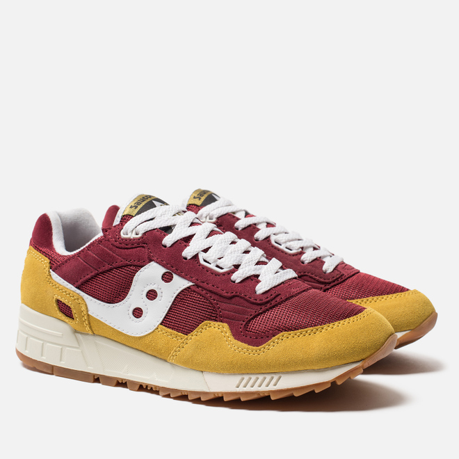 Мужские кроссовки Saucony Shadow 5000 Vintage Yellow/Maroon/White