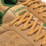 Кроссовки Saucony Shadow Original Cannoli Pack Tan/Light Green фото- 3