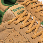 Saucony Shadow Original Cannoli Pack Sneakers Tan/Light Green photo- 3