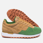 Кроссовки Saucony Shadow Original Cannoli Pack Tan/Light Green фото- 2