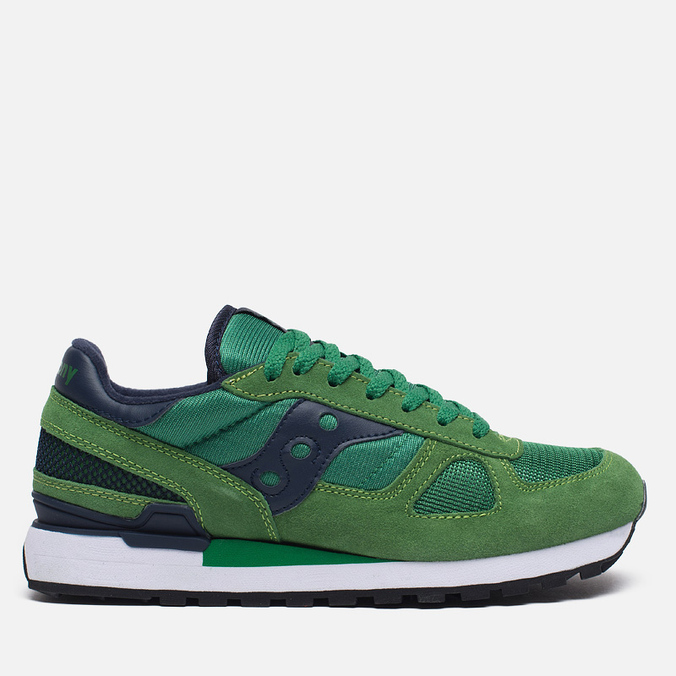 Saucony Shadow Original Men's Sneakers Green/Blue