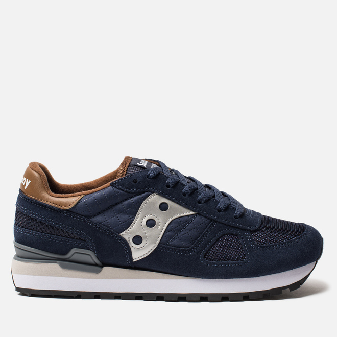 Мужские кроссовки Saucony Shadow Original Navy/Brown