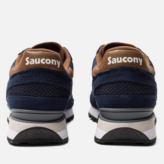 Мужские кроссовки Saucony Shadow Original Navy/Brown