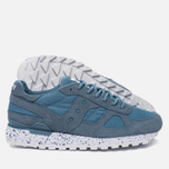 Мужские кроссовки Saucony Shadow Original Ripstop Teal Blue фото- 2