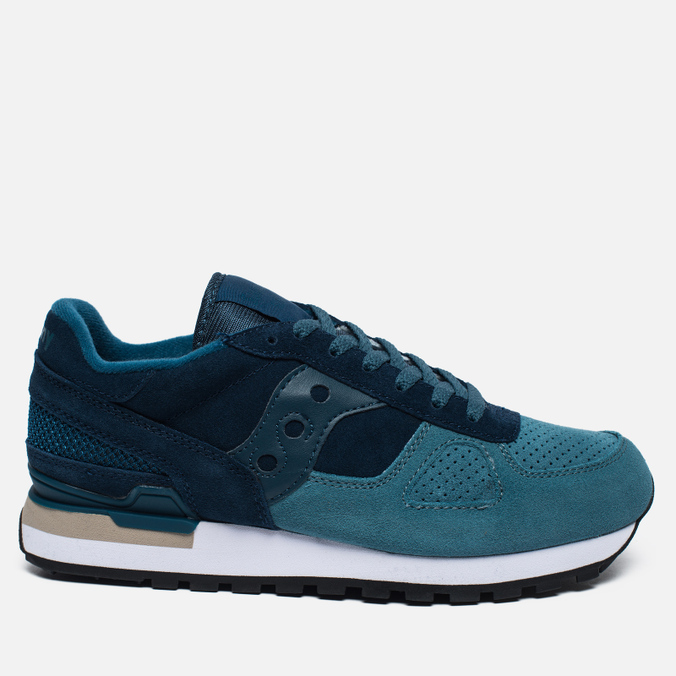 Мужские кроссовки Saucony Shadow Original Suede Blue/Teal