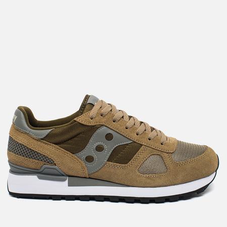 Saucony Shadow Original Men's Sneakers Taupe/Green