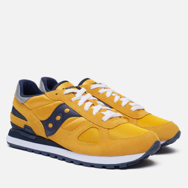 Мужские кроссовки Saucony Shadow Original Yellow/Navy/Oxblood