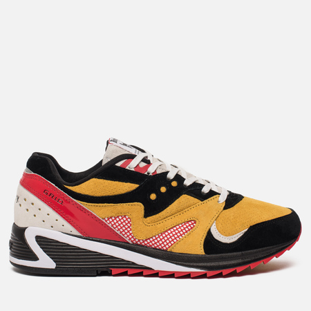 Мужские кроссовки Saucony x Bodega Grid 8000 Black/Yellow/White