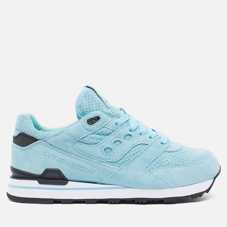 Мужские кроссовки Saucony x Politics Courageous Battle of NOLA Blue