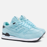 Мужские кроссовки Saucony x Politics Courageous Battle of NOLA Blue фото- 1