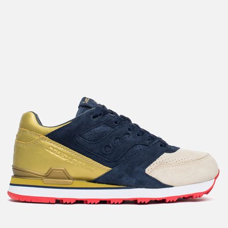 Мужские кроссовки Saucony x Politics Courageous Battle of NOLA Navy/Gold
