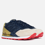 Мужские кроссовки Saucony x Politics Courageous Battle of NOLA Navy/Gold фото- 1