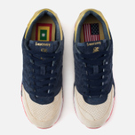 Мужские кроссовки Saucony x Politics Courageous Battle of NOLA Navy/Gold фото- 4