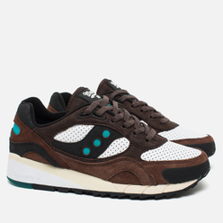 Мужские кроссовки Saucony x West NYC Shadow 6000 Fresh Water Brown/White