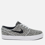 Мужские кроссовки Nike SB Zoom Stefan Janoski Elite Road Pack Pure Platinum/Black/White фото- 0