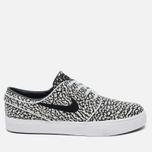 Nike SB Zoom Stefan Janoski Elite Road Pack Men's Sneakers Pure Platinum/Black/White photo- 0