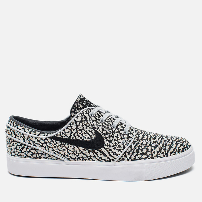 Мужские кроссовки Nike SB Zoom Stefan Janoski Elite Road Pack Pure Platinum/Black/White