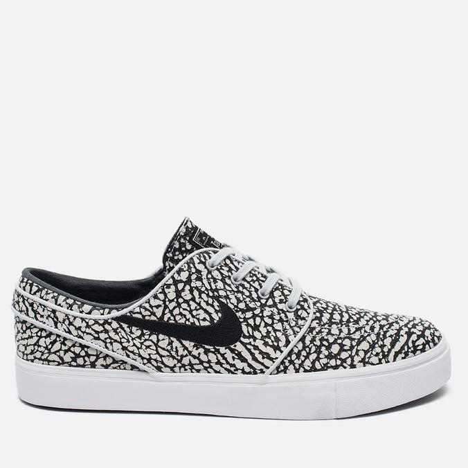 Nike SB Zoom Stefan Janoski Elite Road Pack Men's Sneakers Pure Platinum/Black/White
