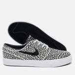 Мужские кроссовки Nike SB Zoom Stefan Janoski Elite Road Pack Pure Platinum/Black/White фото- 2