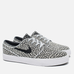 Мужские кроссовки Nike SB Zoom Stefan Janoski Elite Road Pack Pure Platinum/Black/White фото- 1