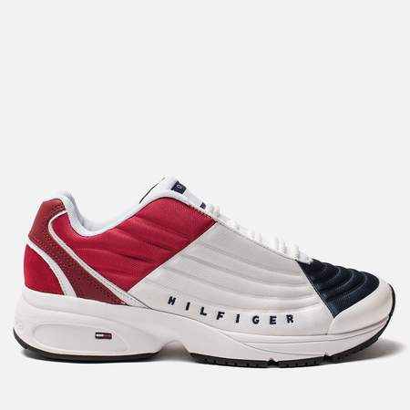 Мужские кроссовки Tommy Jeans 6.0 Crest Low Rise Trainers Red/White/Blue