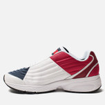 Мужские кроссовки Tommy Jeans 6.0 Crest Low Rise Trainers Red/White/Blue фото- 2