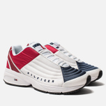 Мужские кроссовки Tommy Jeans 6.0 Crest Low Rise Trainers Red/White/Blue фото- 1