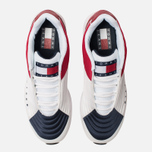 Мужские кроссовки Tommy Jeans 6.0 Crest Low Rise Trainers Red/White/Blue фото- 5